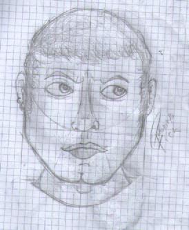 Practica a lapiz: cabeza y rostro. by polonortefick