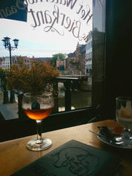A beer in Ghent