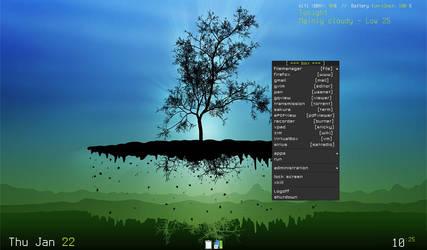eeepc 900 running Archlinux