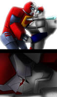 One kiss? by AXEL464