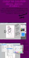 Clean up color-sketch tutorial