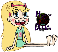Star Butterfly Has Been Digitalized by HyperDolphin