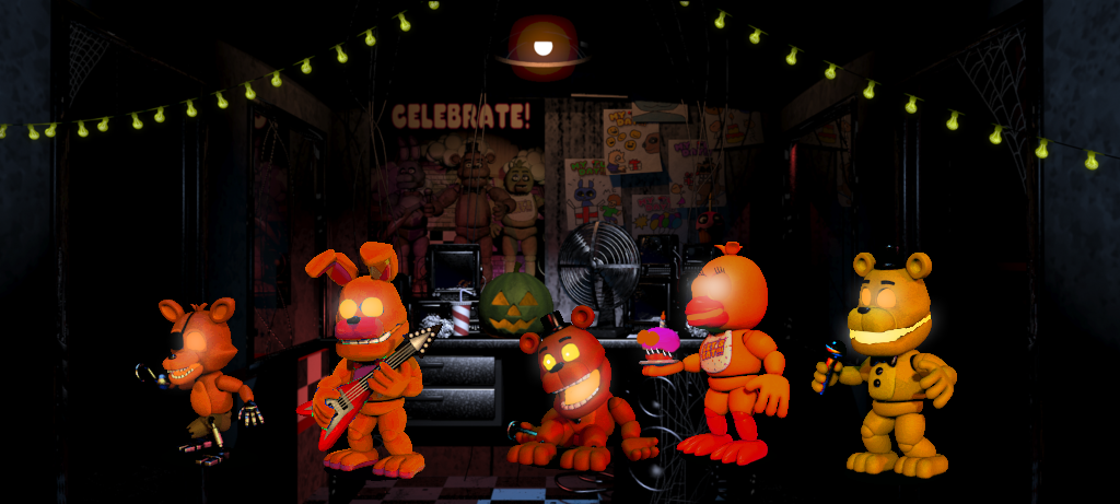 Five Night's at Freddy's Halloween Edition by ShalexStar on DeviantArt