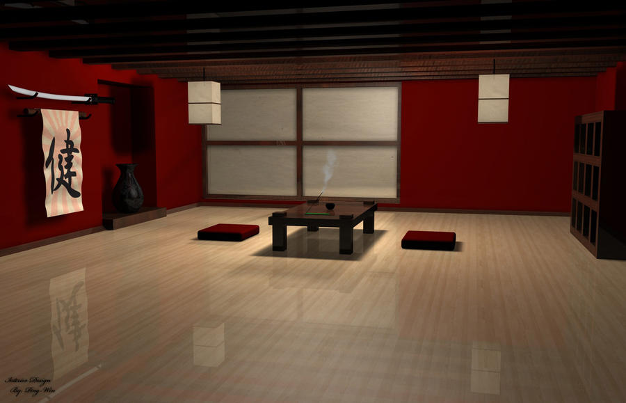 japanese interior design by ping win on deviantart