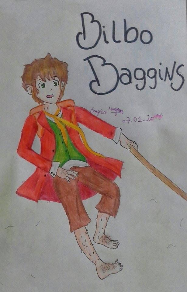 Bilbo Baggings (Art Trade) by marcy1000