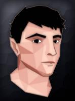 Self portrait - Low poly by Wofk