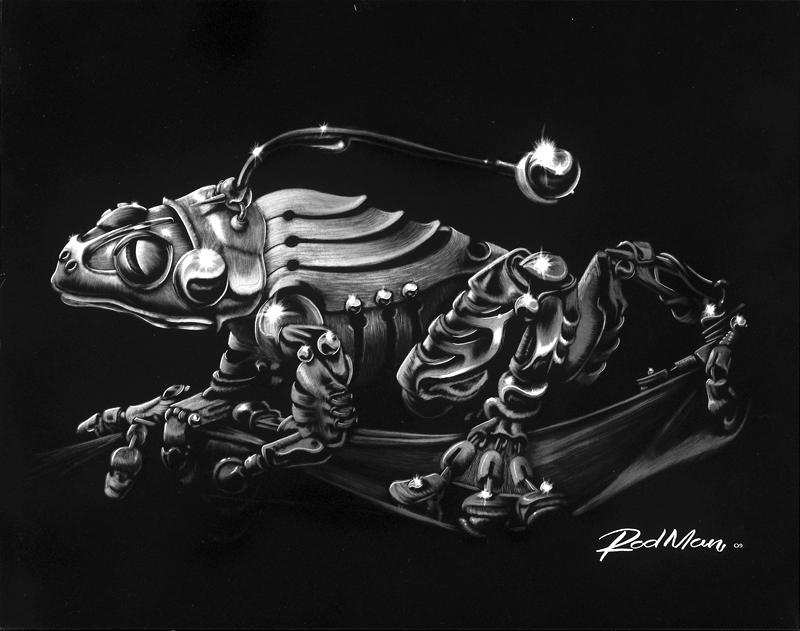 Mech-Frog 'B' by Rodmansvisuals