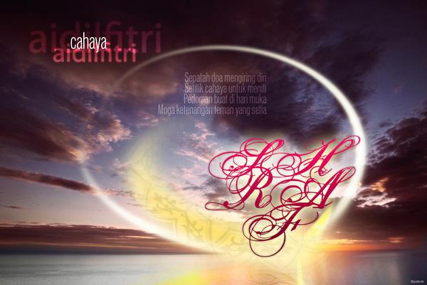 Selamat Hari Raya Aidilfitri by oraet