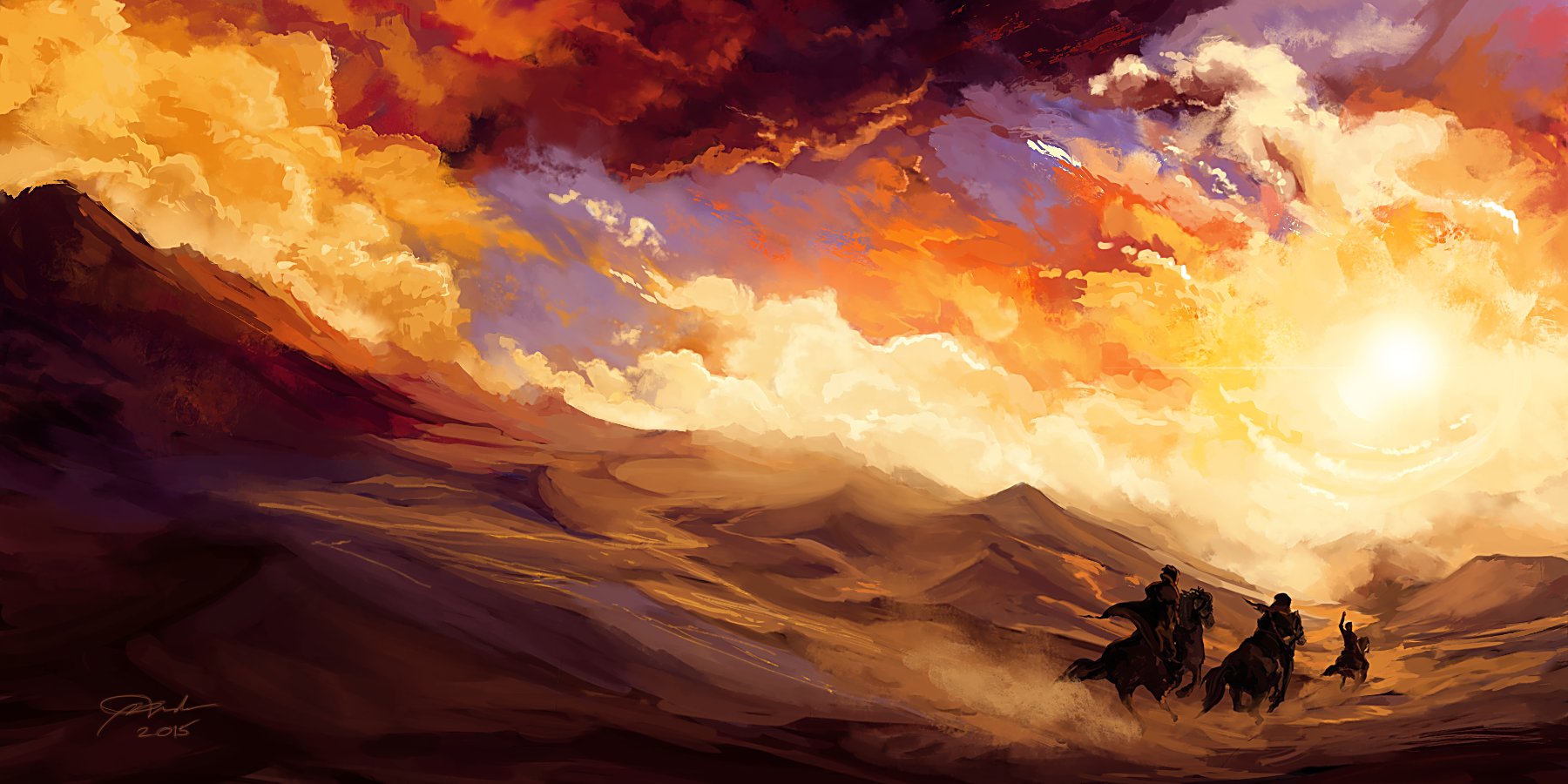 Chasing the Sun by PyriteKite