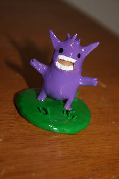 THIS SERIOUS!  Gengar front