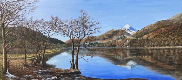 Lake Gwynant - Snowdonia Wales