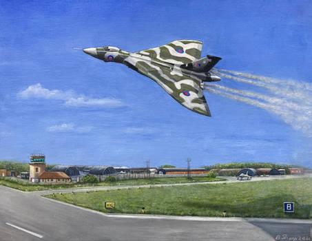 Vulcan Bomber - Oil on canvas