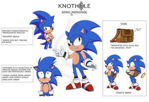 Sonic Hedgehog: Finalized Design Sheet #1