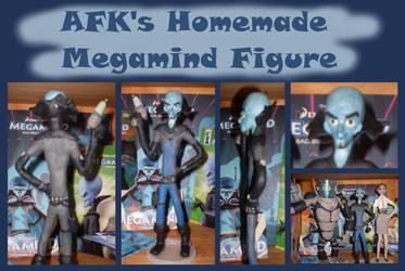 AFK's Homemade Megamind Figure