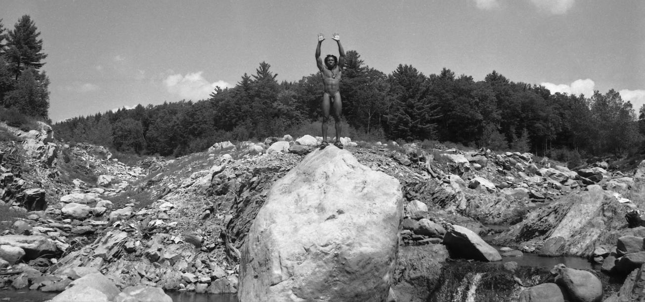 Hands Up on a Big Rock by cable9tuba
