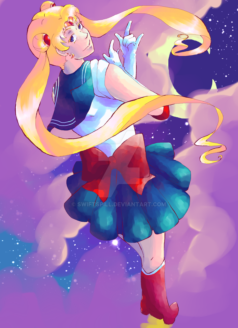 Sailor Moon by Swiftspill