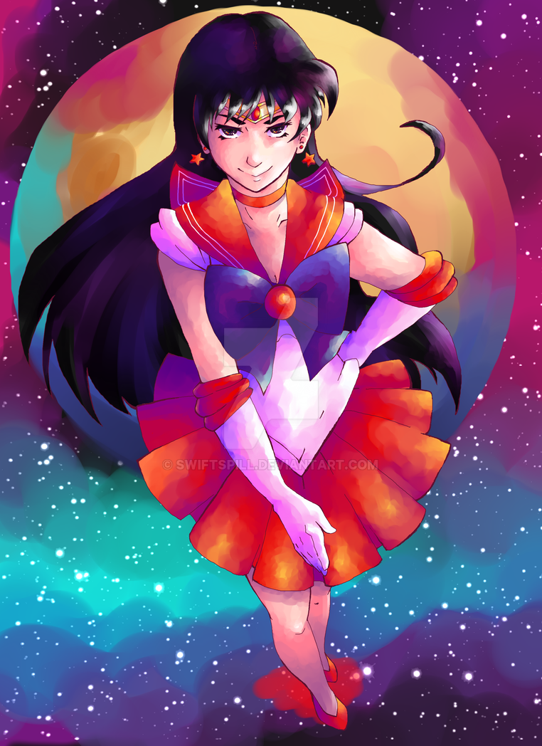 Sailor Mars by Swiftspill
