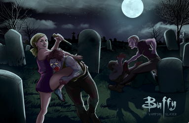 Average Tuesday Night for Buffy Summers by TomatoBisque