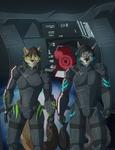 Jade and Takkin Faircrest - N7 Team Fanart