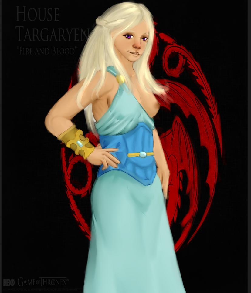 Daenerys3 by raiodeouro7