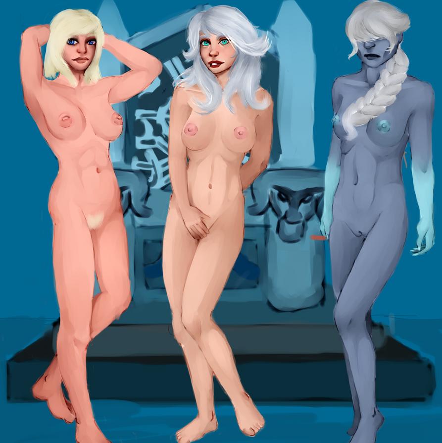 freljord queens by raiodeouro7