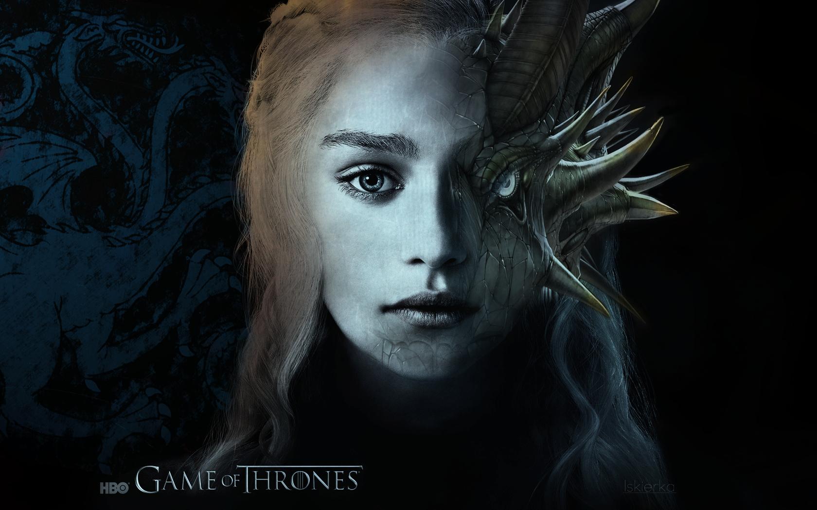 Daenerys Targaryen Game Of Thrones Wallpaper By Iskierka0 On