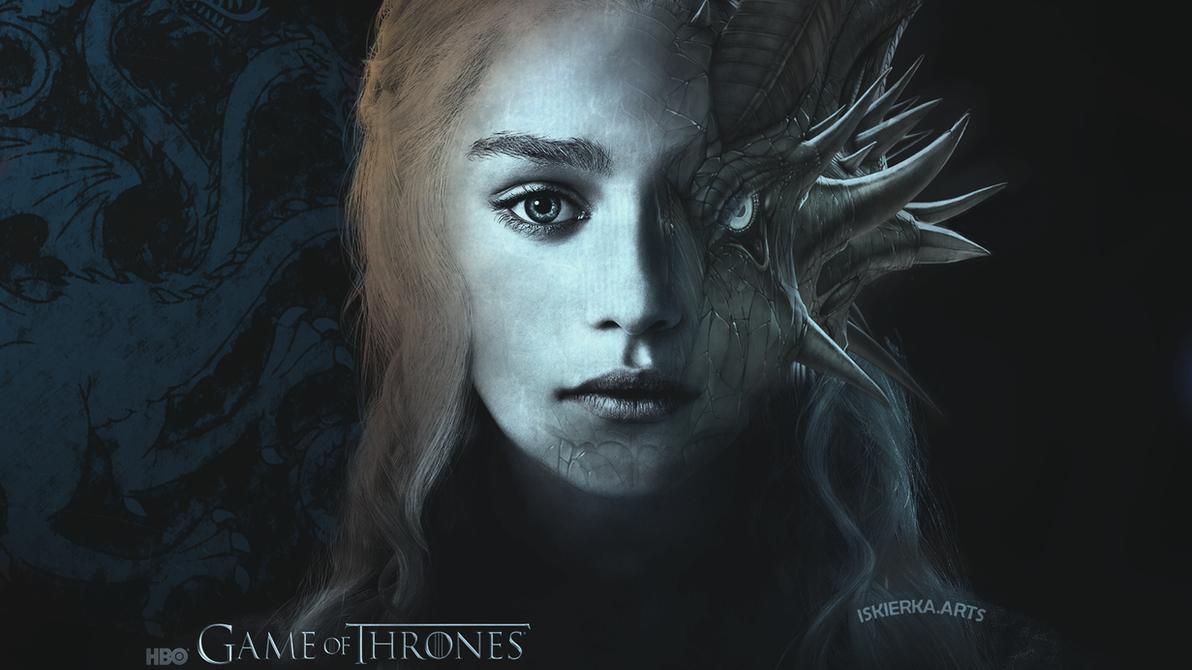Daenerys Game Of Thrones Wallpaper 1920x1080 By Iskierka0