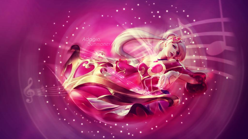 Sona Wallpaper League Of Legends By Iskierka0