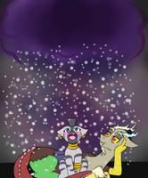 Night Time Snow by jolliapplegirl