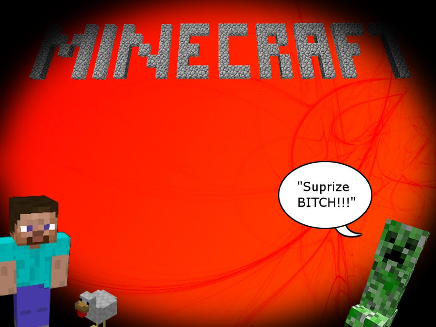 Nice Minecraft Wallpaper by TheRealGimpGeek