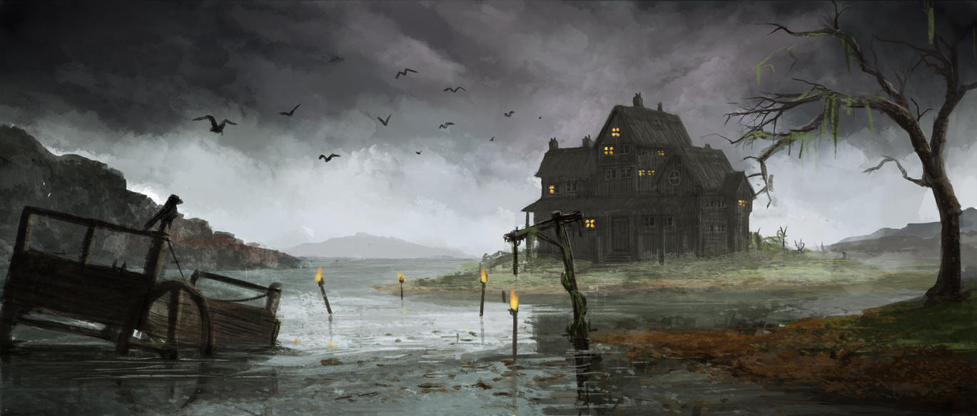 http://pre03.deviantart.net/5492/th/pre/i/2012/312/0/1/swamp_house_by_jake_labz-d5ju796.jpg
