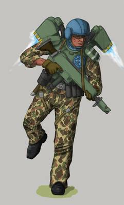 Imperial Guard - Drop Trooper