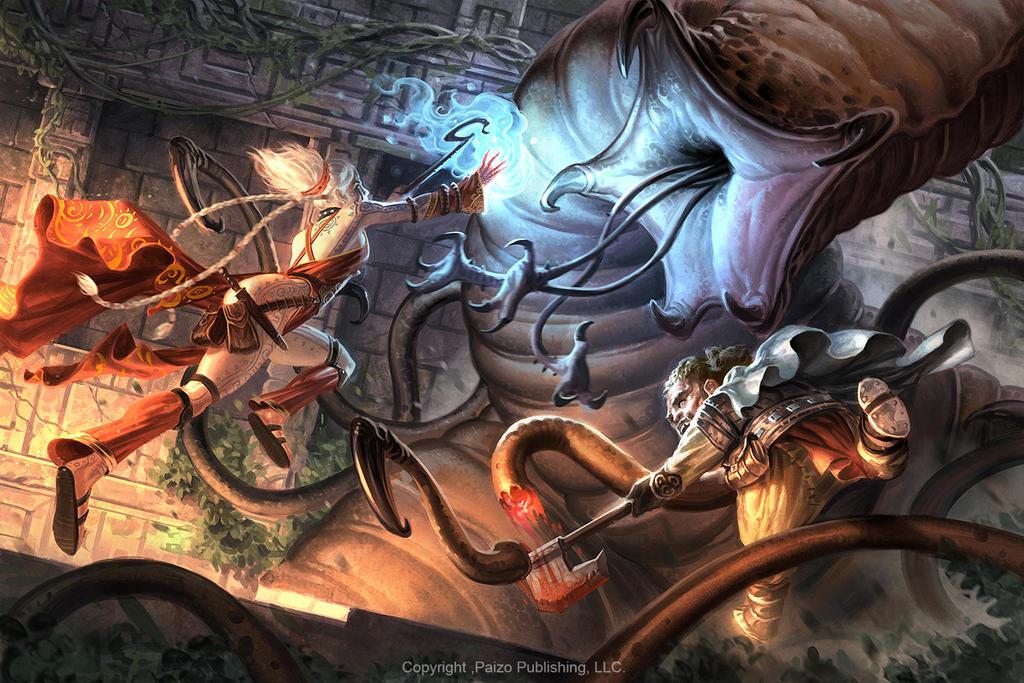 Blood Queen Battle by AlexAlexandrov