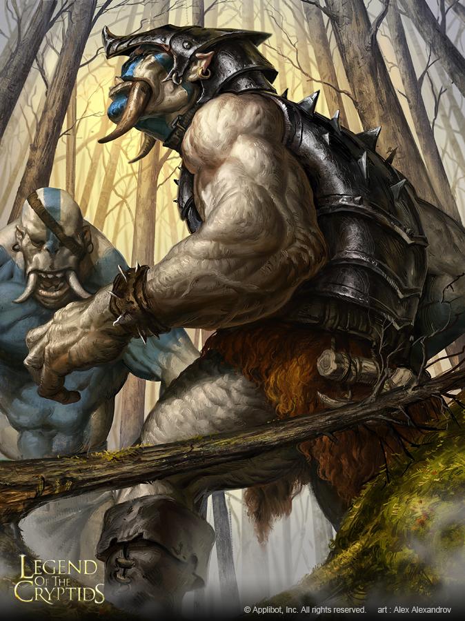 Berserk Troll Brigade Regular by AlexAlexandrov