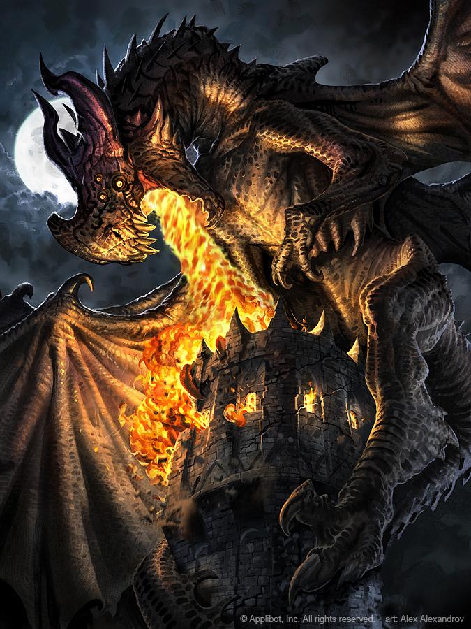 Evil Dragon Vritra Advanced by AlexAlexandrov