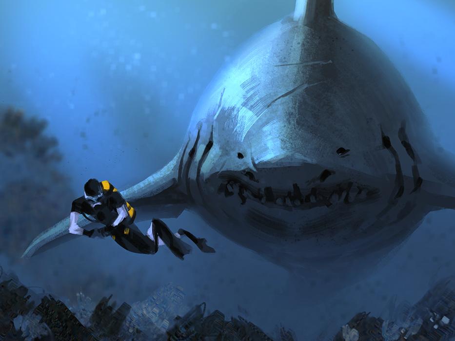 Shark Bait by AlexAlexandrov  Shark