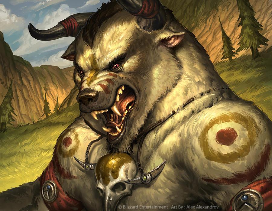 Tauren Druid (Bear Form ) by AlexAlexandrov on DeviantArt