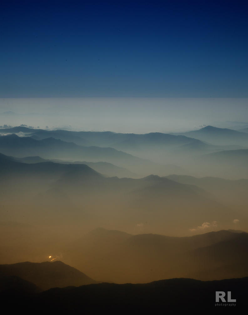 himalaya valley by Rlew