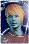 Andorian Girl by juliis