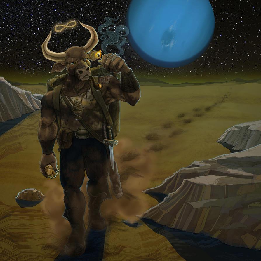 Toro Planetario by MarcosArecha