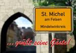 Greeting Card St. Michel am Felsen