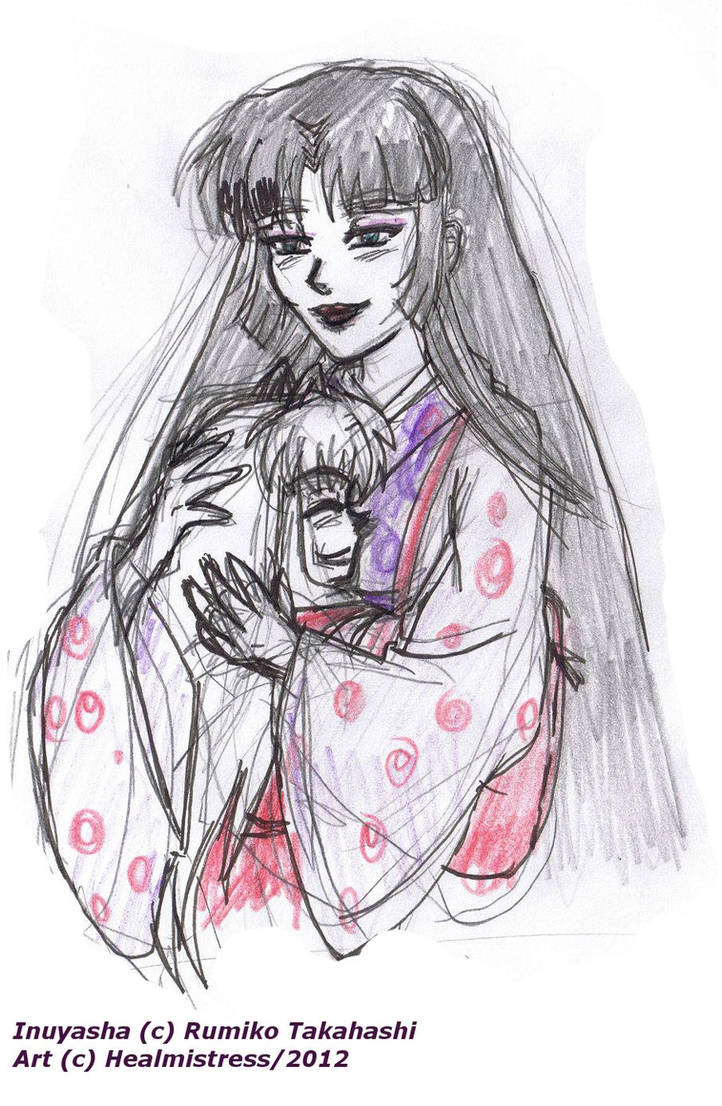 Inuyasha Mother S Warmth By Healmistress On Deviantart
