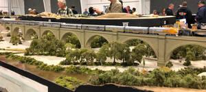 N-Scale Santa Ana River Viaduct