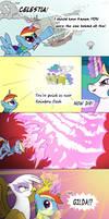 Rainbow Wake pt3 by thestoicmachine