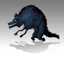 Werewolf by DimitarKatsarov