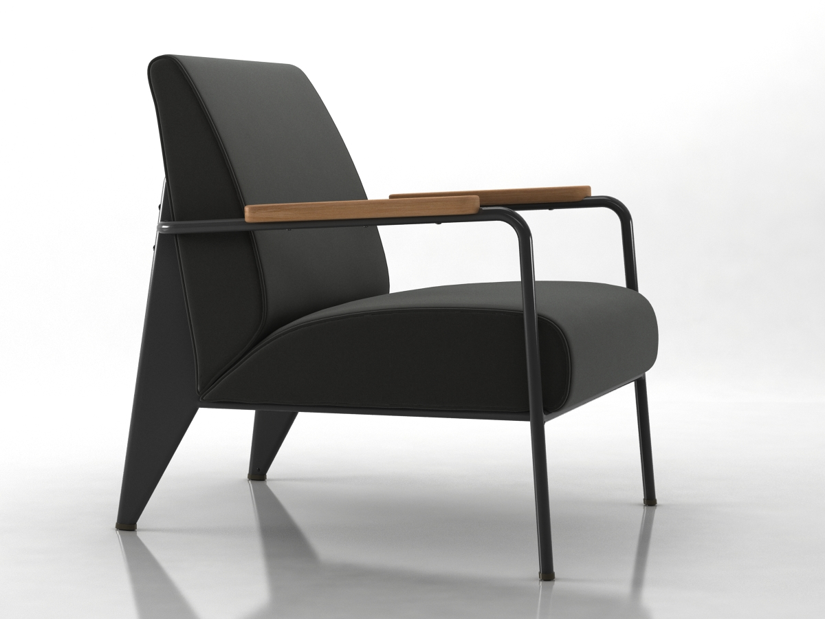Vitra fauteuil de salon 2 by dimitarkatsarov on deviantart - Fauteuil de salon but ...
