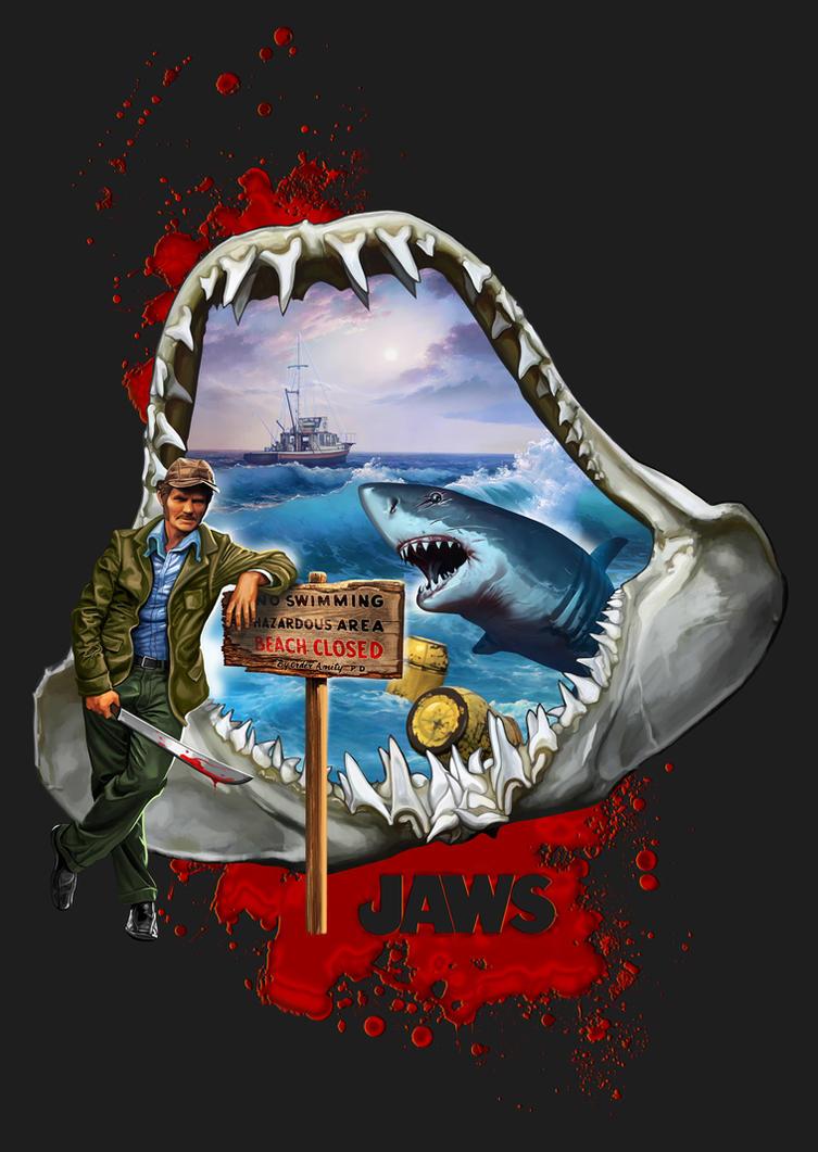 Jaws by DimitarKatsarov