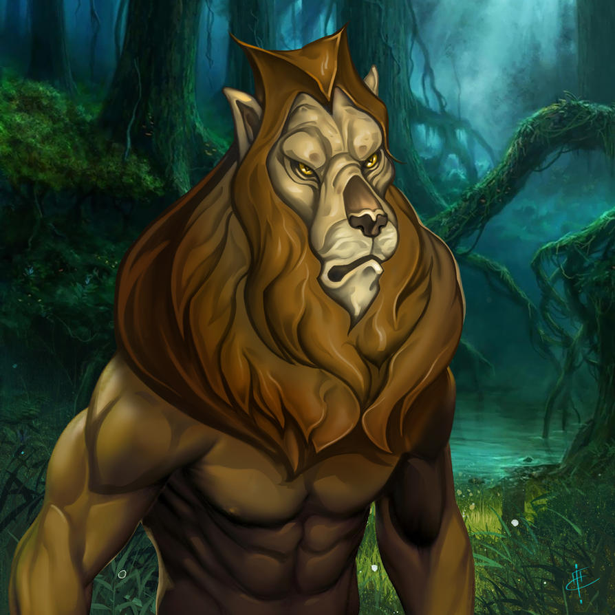 Lion of Oz by DimitarKatsarov