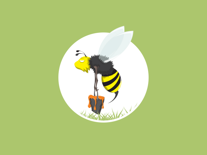 Bee Vector :: Buy Now $15 by NunoDias