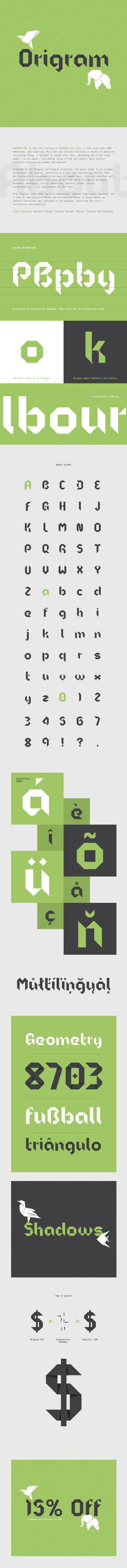 Origram Pro Font